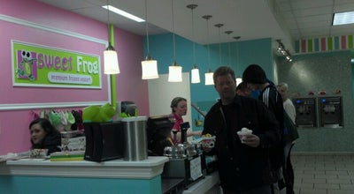 Photo of Frozen Yogurt Sweet Frog Premium Frozen Yogurt at 531 Baltimore Pike, Bel Air, MD 21014, United States