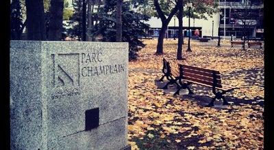 Photo of Park Parc Champlain at Place De L'hôtel De Ville, Trois-Rivières, Qu, Canada