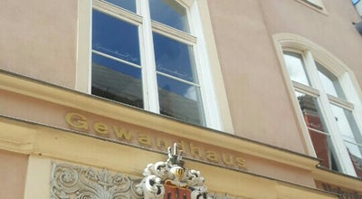 Photo of Cafe Gewandhaus Cafe at Ossenreyerstr. 5, Stralsund 18439, Germany