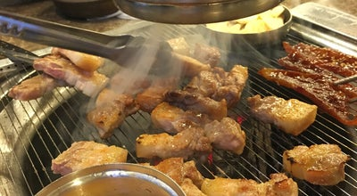 Photo of BBQ Joint 꽃담 at 광산구 첨단강변로 85, 광주광역시 506-303, South Korea