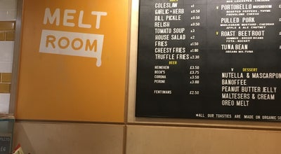 Photo of Sandwich Place Melt Room at 26 Noel St, London W1F 8GY, United Kingdom