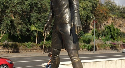 Photo of Outdoor Sculpture Ronaldo Monument at Funchal, Portugal