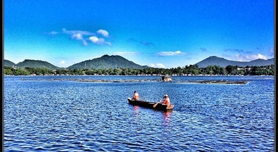 Photo of Lake Sampaloc Lake at San Pablo, Philippines
