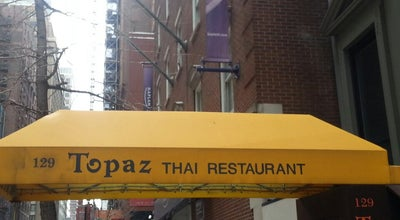 Photo of Thai Restaurant Topaz Thai Restaurant at 127 W 56th St, New York, NY 10019, United States