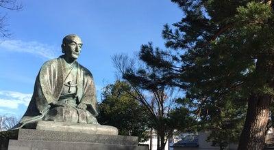 Photo of Monument / Landmark 上杉鷹山公之像 at 丸の内, 米沢市 992-0052, Japan