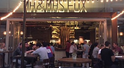 Photo of New American Restaurant Mr. & Mrs. Fox at 23 Tong Chong Street, Quarry Bay, Hong Kong