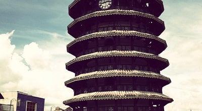 Photo of Monument / Landmark Menara Condong (Leaning Tower) at Jalan Bandar, Teluk Intan 36000, Malaysia