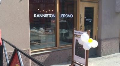 Photo of Bakery Kanniston Leipomo at Siltasaarenkatu 11, Helsinki, Finland
