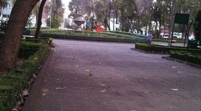 Photo of Park Jardín Pascual Ortíz Rubio at Gabriel Mancera, Mexico City, Mexico