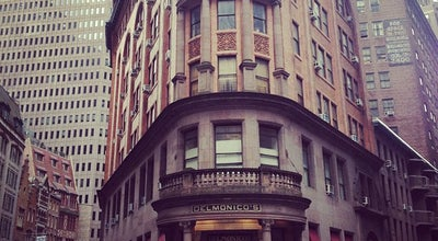 Photo of Steakhouse Delmonico's at 56 Beaver Street, New York, NY 10004, United States