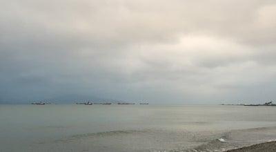 Photo of Beach Пляж возле Дельфинов at Russia