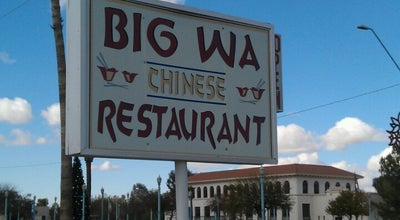 Photo of Chinese Restaurant Big Wa at 700-764 N Morrison Ave, Casa Grande, AZ 85122, United States