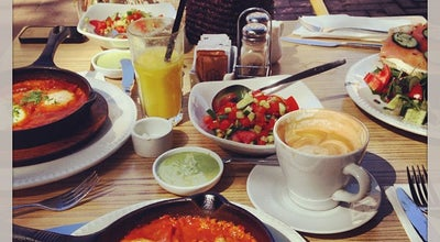 Photo of Cafe Nahalat Binyamin at 10 B'nei Binyamin St., Herzliya, Israel