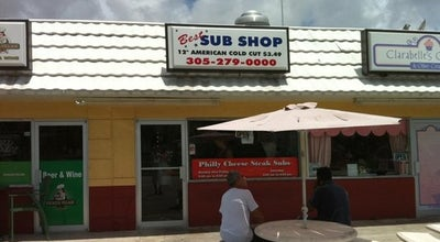 Photo of Sandwich Place Best Sub Shop at 9802 Sw 77th Ave, Miami, FL 33156, United States