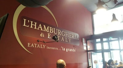 Photo of Burger Joint Hamburgeria di Eataly at Via Sant'orsola 21/c, Bergamo, Italy