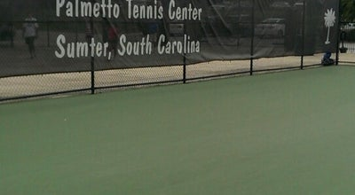 Photo of Park Palmetto Tennis Center at 400 Theatre Dr, Sumter, SC 29150, United States