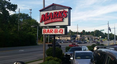 Photo of BBQ Joint Mark's Feed Store at 11422 Shelbyville Rd, Louisville, KY 40243, United States