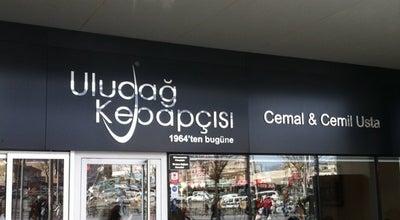 Photo of Doner Restaurant Uludağ Kebapçısı Cemal & Cemil Usta at Kent Meydanı Avm, Osmangazi, Turkey