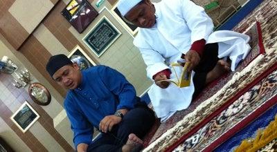 Photo of Mosque Masjid Al Muhtadee Billah at Kampong Sungai Kebun, Kampung Ayer, Brunei