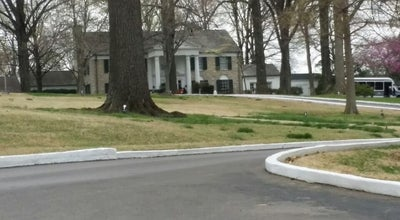 Photo of Historic Site Gates of Graceland at Memphis, TN 38116, United States