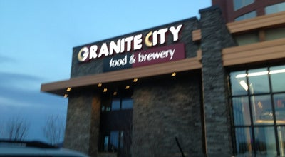 Photo of Brewery Granite City Food & Brewery at 1864 W Mcewen Dr, Franklin, TN 37067, United States