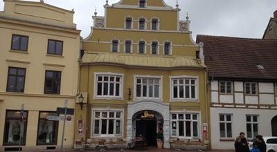 Photo of Cafe Cafe Löwenapotheke at Bademutterstraße 2, Wismar 23966, Germany