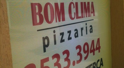 Photo of Pizza Place Pizzaria Bom Clima at Rua Porto Alegre, 2, Gravatá, Brazil