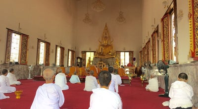 Photo of Buddhist Temple วัดสนามพราหมณ์ at Phet Phli, Tha Rap 76000, Thailand