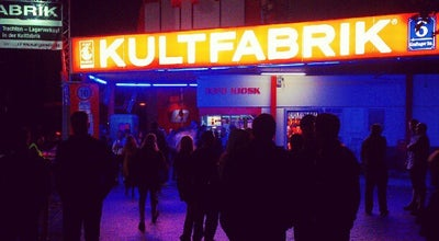 Photo of Nightclub Kultfabrik at Grafinger Str. 6, München 81671, Germany