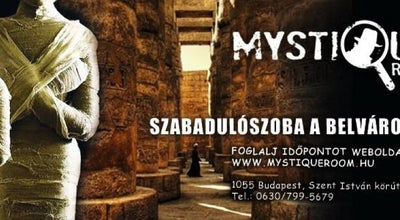 Photo of Theme Park MystiqueRoom at Szent István Krt. 9., Budapest 1055, Hungary