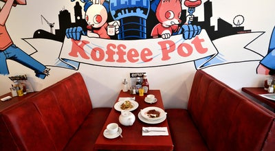 Photo of Cafe The Koffee Pot Bar & Cafe at 84-86 Oldham Street, Manchester M4 1LF, United Kingdom