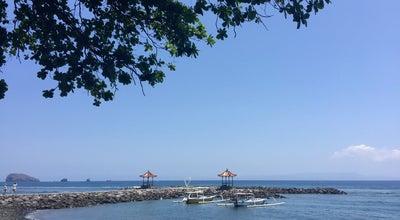 Photo of Beach Pantai Candidasa at Jalan Raya Manggis, Karangasem, Indonesia