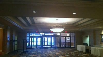 Photo of Hotel Bar Hershey Lodge Lobby at University Ave, Hershey, PA, United States