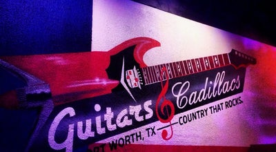 Photo of Nightclub Guitars and Cadillacs at 4750 Bryant Irvin Rd, Fort Worth, TX 76132, United States