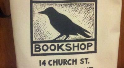 Photo of Bookstore Crow Bookshop at 14 Church St, Burlington, VT 05401, United States