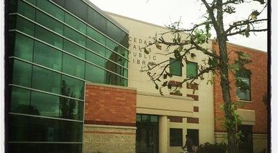 Photo of Library Cedar Falls Public Library at 524 Main St, Cedar Falls, IA 50613, United States