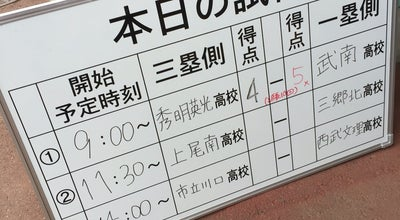 Photo of Baseball Field さいたま市営浦和球場 at 元町1-29-10, さいたま市, Japan