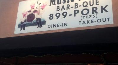 Photo of BBQ Joint Music Man Barbecue at 112 E Railroad Ave, Moncks Corner, SC 29461, United States