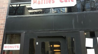 Photo of American Restaurant Waffles Cafe at 203 E Ohio St, Chicago, IL 60611, United States