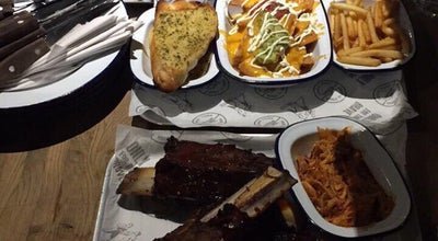 Photo of BBQ Joint Man vs Food Grillhouse at Chillingham Road, United Kingdom