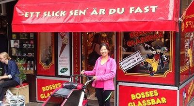 Photo of Ice Cream Shop Bosses Glassbar at Platensgatan 3, Linköping, Sweden