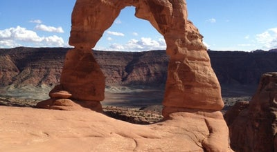 Photo of Scenic Lookout Delicate Arch at Arches National Park, Moab, UT 84532, United States