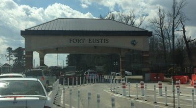 Photo of Monument / Landmark Fort Eustis Main Gate at United States