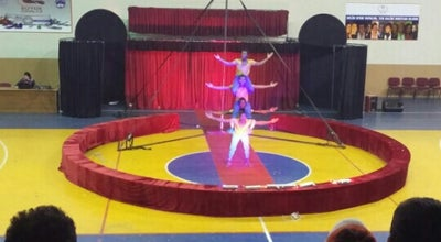 Photo of Basketball Court erciş kapali spor salonu at Turkey