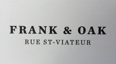 Photo of Men's Store Frank & Oak Westboro at Canada