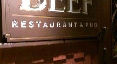 Photo of Steakhouse The Beef Restaurant & Pub at 62 Leroy St, Binghamton, NY 13905, United States