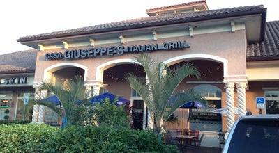 Photo of Italian Restaurant Casa Giuseppe's Italian Grill at Se Indian St, Stuart, FL 34997, United States
