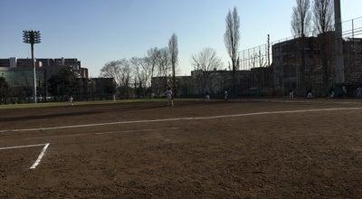 Photo of Baseball Field 富士見公園内野球場 at 錦町2-12, 蕨市, Japan