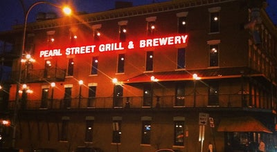 Photo of Brewery Pearl Street Grill & Brewery at 76 Pearl St, Buffalo, NY 14202, United States