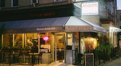 Photo of Mexican Restaurant Amaranto at 887 Hart St, Brooklyn, NY 11237, United States